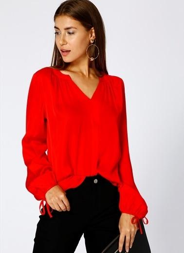 Fabrika Bluz Kırmızı